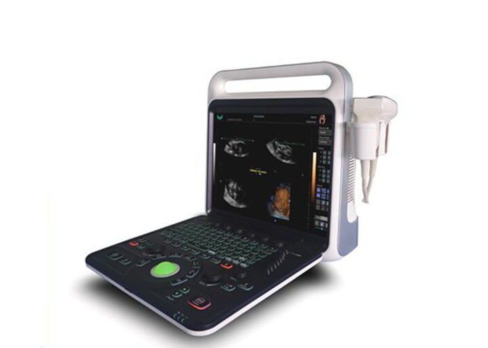 PW Function 2 Probe Connectors Handheld Doppler Machine With Multiple Image Modes