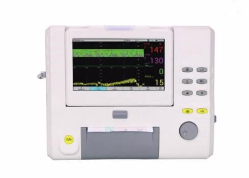 "10.2"" Display Screen Multiparameter Patient Monitor Fetal Monitor Light and Compact Design Simple to Use"